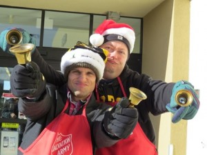 Salvation Army bellringing
