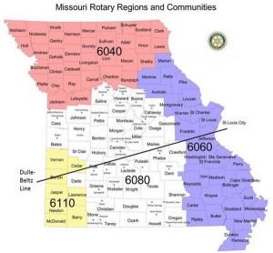 Rotary north vs south