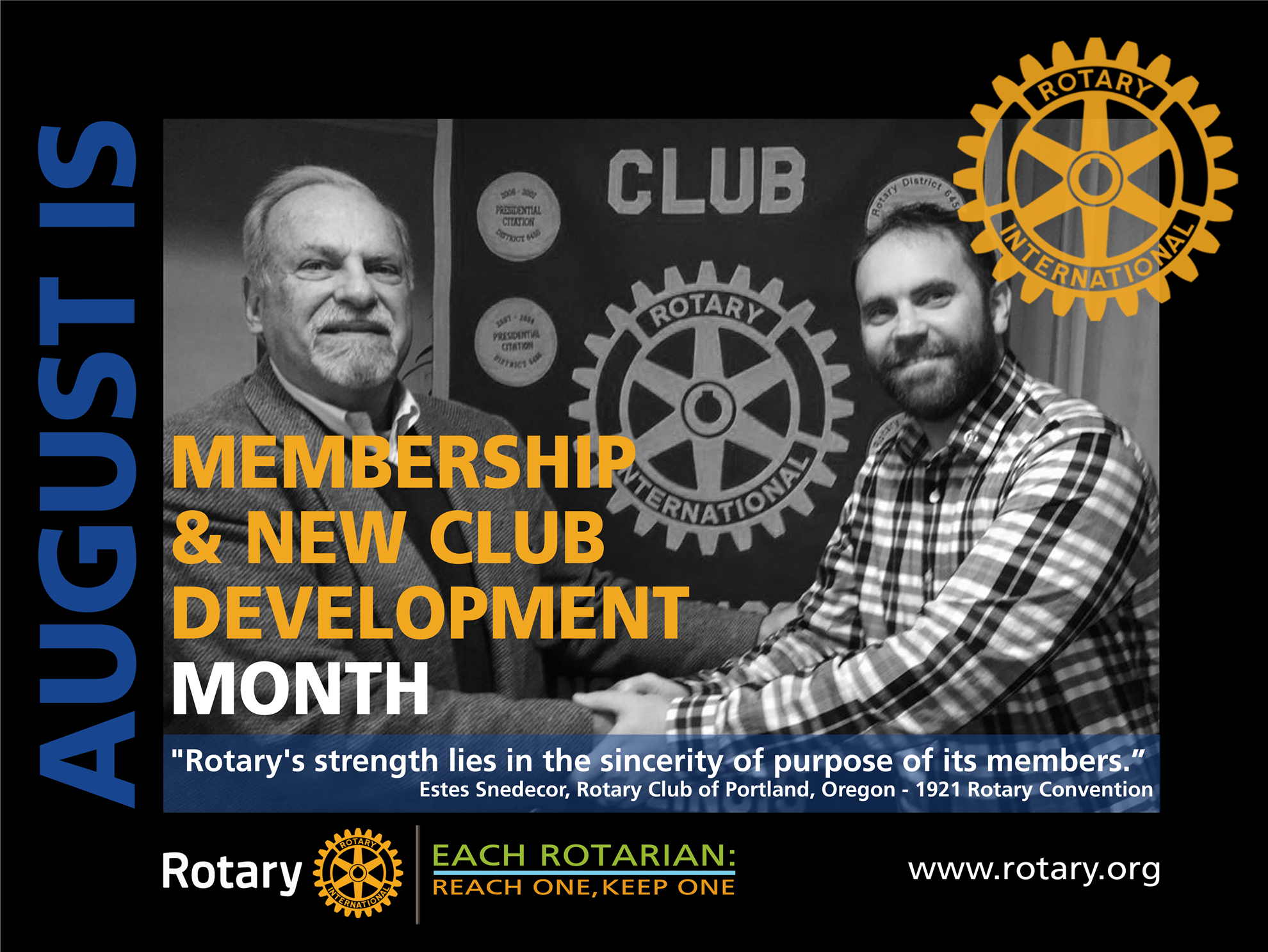 Image result for Rotary august month