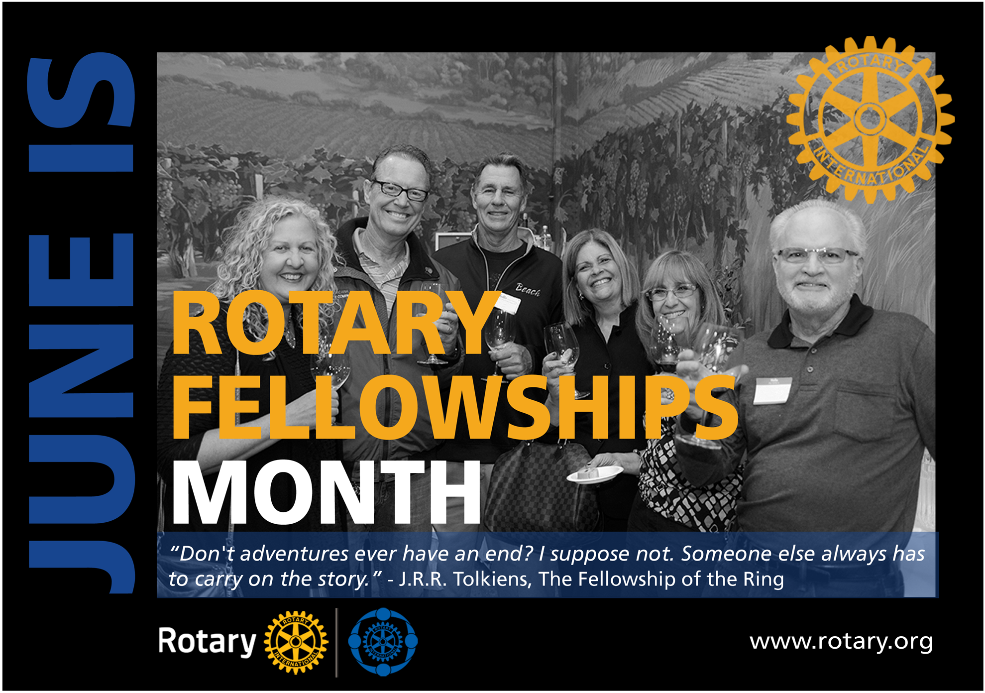 Image result for rotary month June